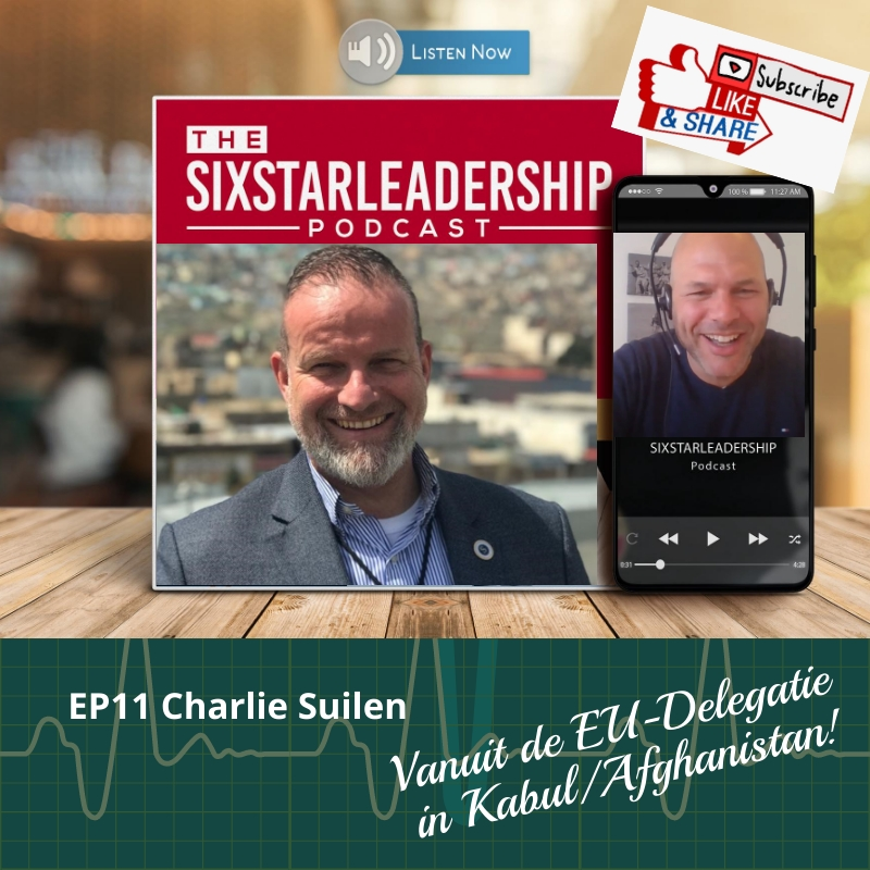 Charlie suilen, leiderschap ,business ,defensie ,salesteam ,motivation ,salesmanager ,military ,businessleadership ,inspiration ,veteran ,coaching ,podcast ,militaryleadership ,effectiefcommuniceren ,veteraan, landmacht, leadership, sixstarleadership