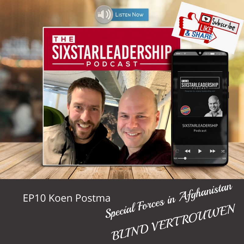 Koen postma, otto van wiggen, generaal, leiderschap ,business ,defensie ,salesteam ,motivation ,salesmanager ,military ,businessleadership ,inspiration ,veteran ,coaching ,podcast ,militaryleadership ,effectiefcommuniceren ,veteraan, landmacht, leadership, sixstarleadership